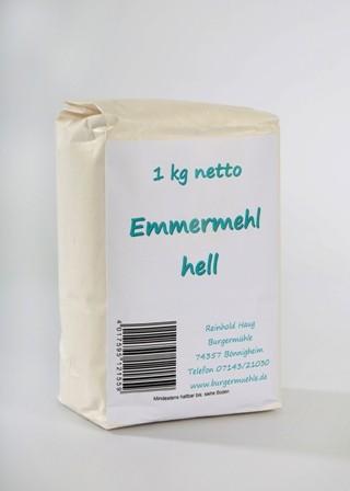 Emmermehl hell