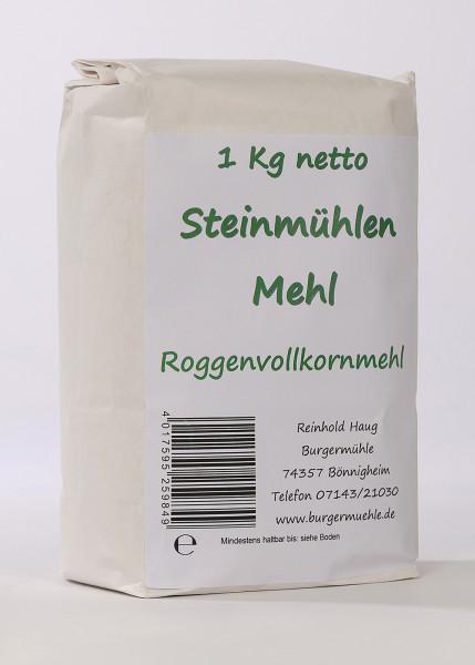 Steinmühlenmehl-Roggen