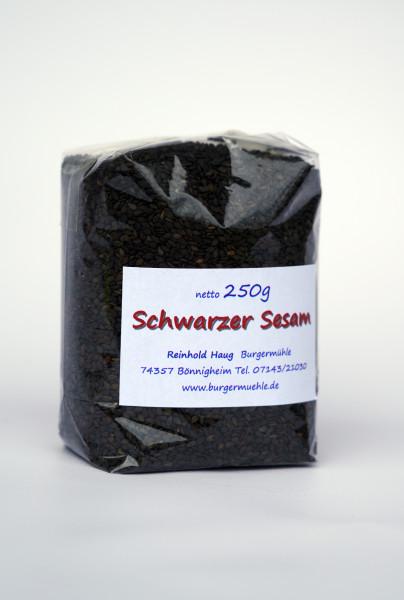 Schwarzer Sesam