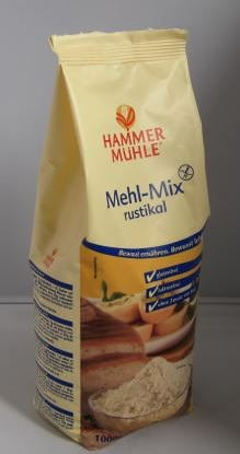 Back-Mix rustikal glutenfrei