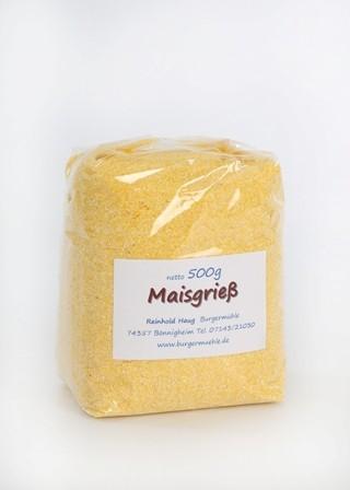 Maisgrieß glutenfrei