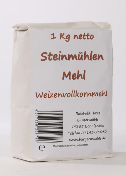 Steinmühlenmehl-Weizen