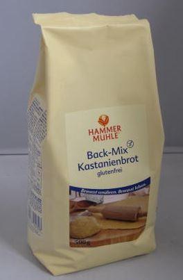 Back-Mix Kastanienbrot glutenfrei